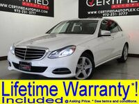 Mercedes-Benz E350 4MATIC LUXURY BLIND SPOT ASSIST LANE KEEP ASSIST ATTENTION ASSIST NAVIGATION 2014