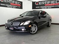 Mercedes-Benz E350 COUPE NAVIGATION PANORAMA HARMAN KARDON SOUND SYSTEM LEATHER HEATED SEATS 2010