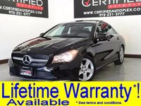 Mercedes-Benz CLA 250 NAVIGATION PANORAMA LEATHER SEATS BLUETOOTH KEYLESS START 2017