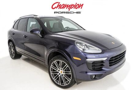 2017 Porsche DEMO SALE Cayenne Platinum Edition Pompano Beach FL