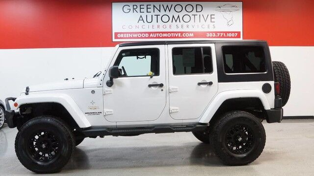 2013 Jeep Wrangler Unlimited Sahara Greenwood Village CO