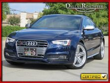 Audi S5 Supercharged V6 Premium Plus 1-Owner Clean Carfax 2014