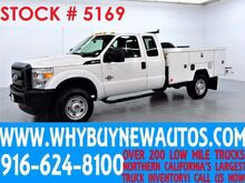 2012 Ford F350 ~ 9ft Utility ~ 4x4 ~ Diesel ~ Extended Cab ~ Only 55K Miles! Rocklin CA