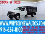 2004 Ford F550 ~ 4x4 ~ 12ft Stake Bed ~ Only 23K Miles!
