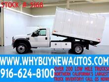 2010 Ford F550 ~ Chipper Dump Bed ~ Diesel ~ Only 53K Miles! Rocklin CA