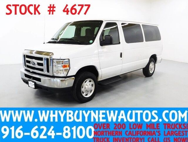2012 Ford E150 ~ XLT ~ Luxury Captains Chair Package ~ Only 67K Miles! Rocklin CA
