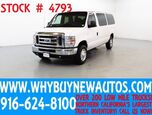2013 Ford E350 ~ XLT ~ Luxury Captains Chair Package ~ Only 70K Miles!