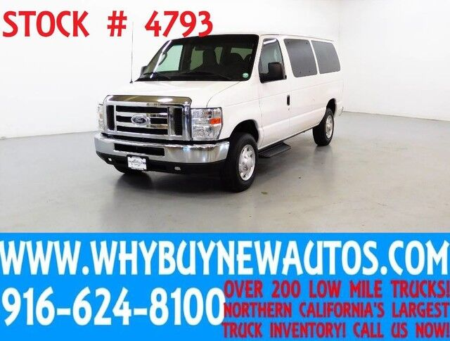 2013 Ford E350 ~ XLT ~ Luxury Captains Chair Package ~ Only 70K Miles! Rocklin CA