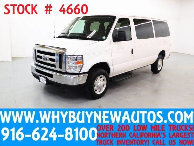 2012 Ford E350 ~ XLT ~ Luxury Captains Chair Package Rocklin CA