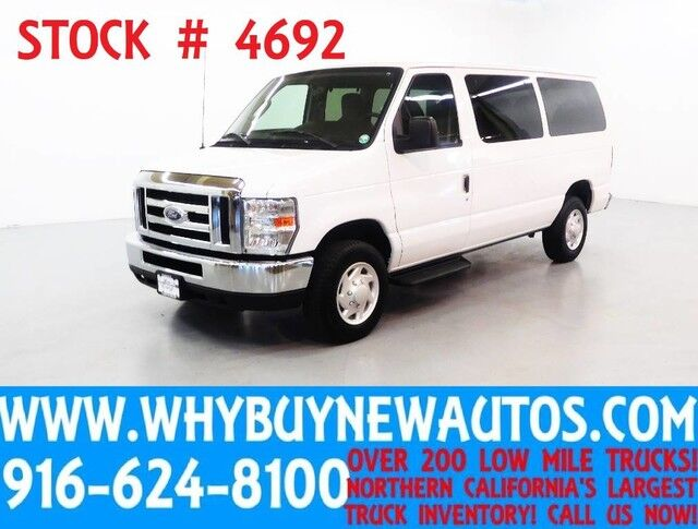 2013 Ford E350 ~ XLT ~ Luxury Captains Chair Package ~ Only 56K Miles! Rocklin CA