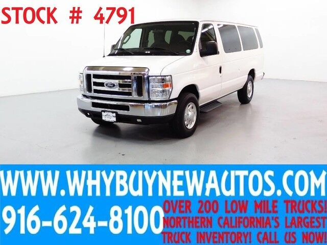 2012 Ford E350 ~ XLT ~ Luxury Captains Chair Package ~ Only 51K Miles! Rocklin CA