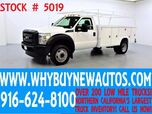 2012 Ford F450 ~ 11ft Utility ~ Top Boxes ~ Only 55K Miles!