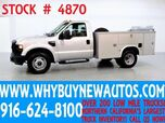 2008 Ford F350 ~ Utility ~ Lift Gate ~ Only 44K Miles!