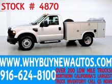 2008 Ford F350 ~ Utility ~ Lift Gate ~ Only 44K Miles! Rocklin CA
