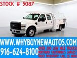 2008 Ford F350 ~ 10ft Contractor Bed ~ Diesel ~ Crew Cab ~ Only 44K Miles!