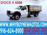 2007 Ford F450 ~ Diesel ~ 12ft Stake Bed ~ Only 45K Miles!