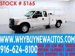2014 Ford F250 ~ Extended Cab ~ Utility ~Top Boxes~ Only 56K Miles!