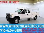 2012 Ford F250 ~ 4x4 ~ Extended Cab ~ Utility ~ Top Boxes ~ Only 56K Miles!
