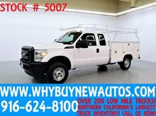 2012 Ford F250 ~ 4x4 ~ Extended Cab ~ Utility ~ Top Boxes ~ Only 56K Miles! Rocklin CA