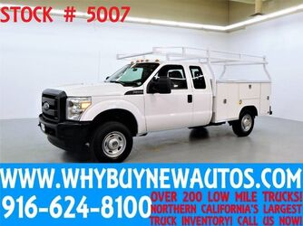Ford F250 ~ 4x4 ~ Extended Cab ~ Utility ~ Top Boxes ~ Only 56K Miles! 2012