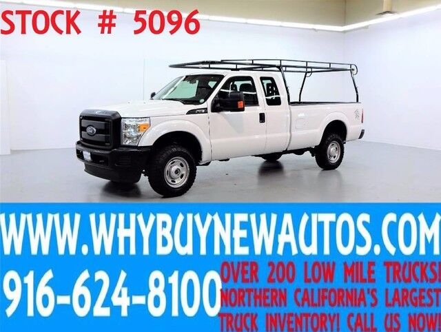 2015 Ford F350 ~ 4x4 ~ Extended Cab ~ Only 65K Miles! Rocklin CA