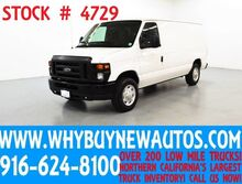 2012 Ford E150 ~ Cargo Van ~ Racks & Shelves ~ Only 60K Miles! Rocklin CA