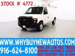 2010 Ford E250 ~ Cargo Van ~ Dual Fold-down Ladder Racks ~ Only 36K Miles!