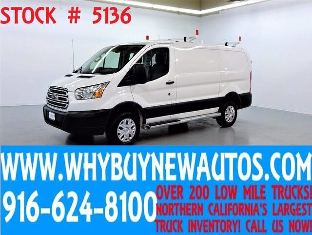 2015 Ford Transit 250 ~ Cargo Van ~ Ladder Rack ~ Shelves ~ Only 11K Miles! Rocklin CA