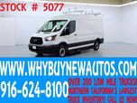 2015 Ford Transit 250 ~ Medium Roof ~ Dual Fold-down Ladder Racks ~ End High Shelves ~ Only 34K Miles!