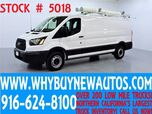 2015 Ford Transit 250 ~ 5 Passenger Cargo ~ Dual Fold-down Ladder Racks ~ High End Shelves~ Only 1K Miles!