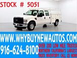 2009 Ford F250 ~ Crew Cab ~ Utility ~ Top Boxes ~ Only 32K Miles!