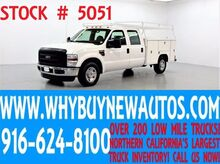 2009 Ford F250 ~ Crew Cab ~ Utility ~ Top Boxes ~ Only 32K Miles! Rocklin CA