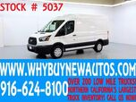 2016 Ford Transit 150 ~ Cargo Van ~ Medium Roof ~ Shelves ~ Only 29K Miles!