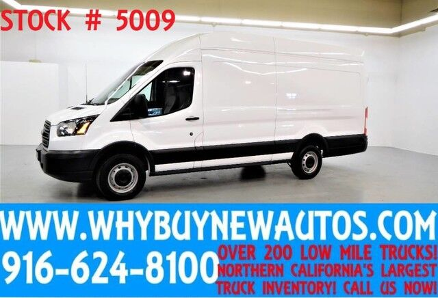 2016 Ford Transit 250 ~ High Roof Ext. Length ~ EcoBoost Engine~ Cargo Van ~ Only 48K Miles! Rocklin CA