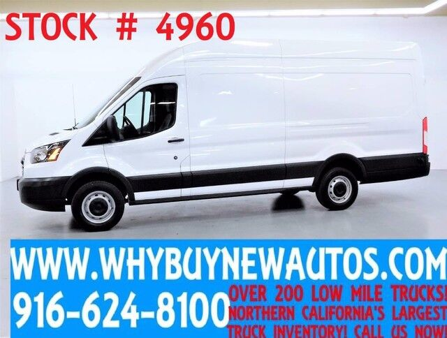 2016 Ford Transit 250 ~ High Roof Ext. Length ~ EcoBoost Engine ~ Cargo Van ~ Only 40K Miles! Rocklin CA