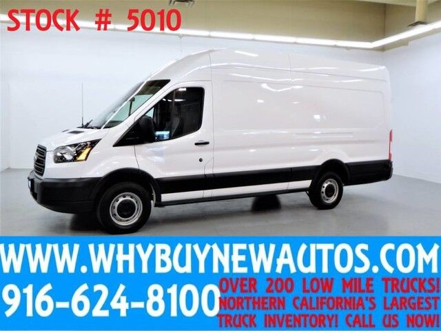 2016 Ford Transit 250 ~ High Roof ~ Ext. Length ~ EcoBoost Engine ~ Cargo Van ~ Only 44K Miles! Rocklin CA