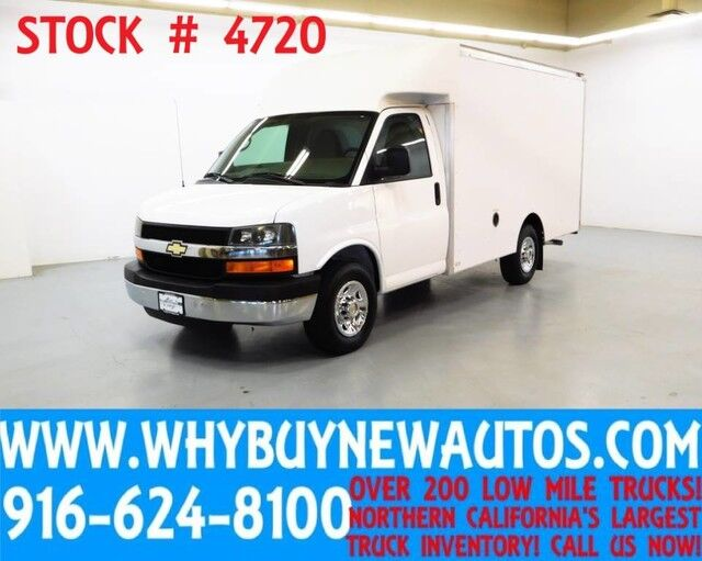 2012 Chevrolet Express 3500 ~ 12ft Box Van ~ Only 21K Miles! Rocklin CA