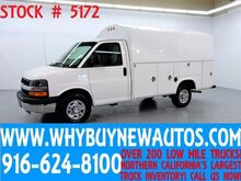 2014 Chevrolet Express 3500 ~ 11ft Utility Cutaway ~ Only 47K Miles! Rocklin CA