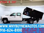 2014 Chevrolet Silverado 3500HD ~ 10ft Dump Bed ~ Crew Cab ~ Only 46K Miles!