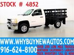 2009 Chevrolet Silverado 2500HD ~ 8ft Stake Bed ~ Only 18K Miles!