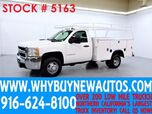 2007 Chevrolet Silverado 3500HD ~ 9ft Utility ~ Top Boxes ~ Only 16K Miles!