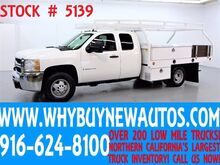 2009 Chevrolet Silverado 3500HD ~ 10ft Contractor Bed ~ Extended Cab ~ Only 61K Miles! Rocklin CA