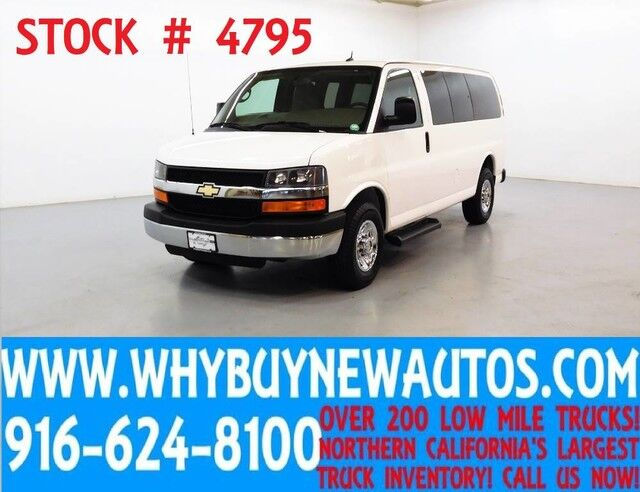 2014 Chevrolet Express 2500 LT ~ Luxury Captains Chair Package ~ Only 63K Miles! Rocklin CA