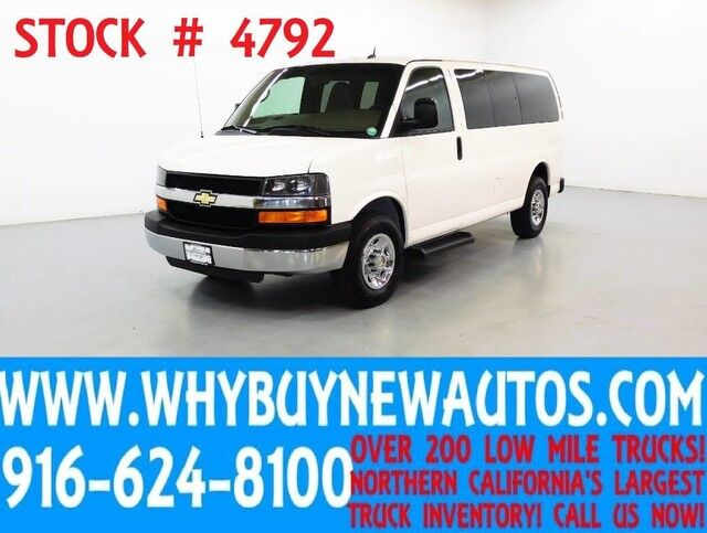 2014 Chevrolet Express 2500 LT ~ Luxury Captains Chair Package Rocklin CA