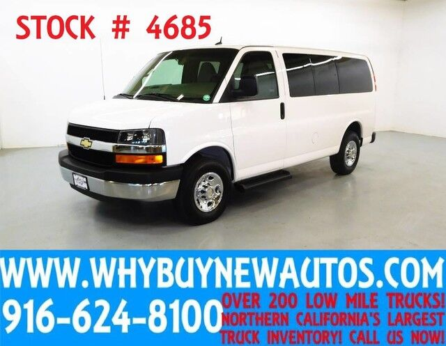 2014 Chevrolet Express 2500 LT ~ Luxury Captains Chair Package ~ Only 42K Miles! Rocklin CA