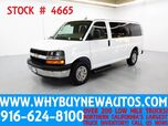 2014 Chevrolet Express 2500 LT ~ Luxury Captains Chair Package ~ Only 50K Miles!