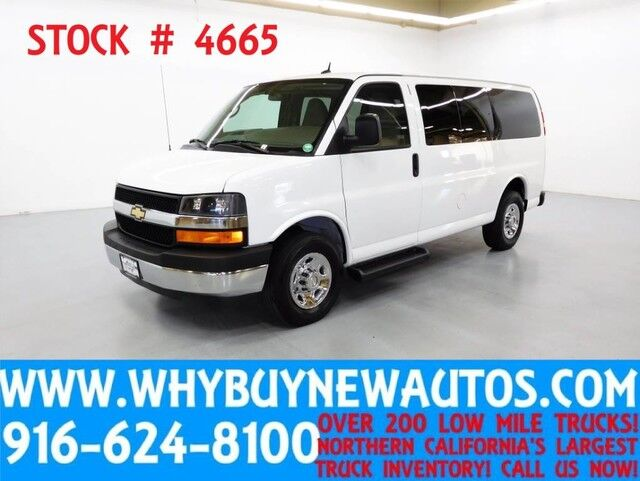 2014 Chevrolet Express 2500 LT ~ Luxury Captains Chair Package ~ Only 50K Miles! Rocklin CA