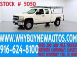 2008 Chevrolet Silverado 2500HD ~ 4x4 ~ Extended Cab ~ Only 68K Miles!