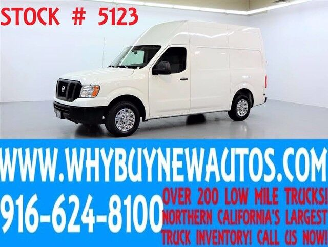2012 Nissan NV 3500HD ~ High Roof Cargo ~ Only 44K Miles! Rocklin CA