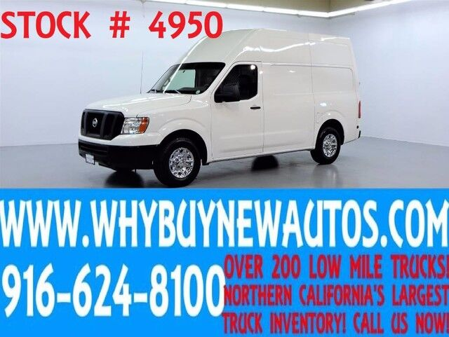 2012 Nissan NV 2500HD ~ High Roof Cargo ~ Only 52K Miles! Rocklin CA